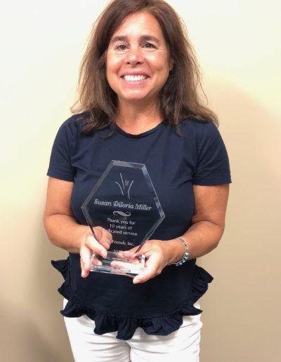 Sue Miller, Founding Board Member, Vice President
